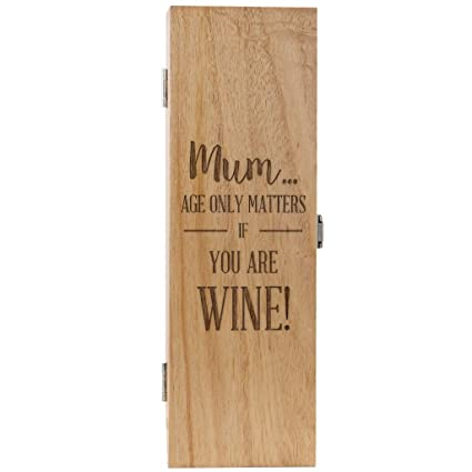 Mum Birthday Gifts Funny Wine Box