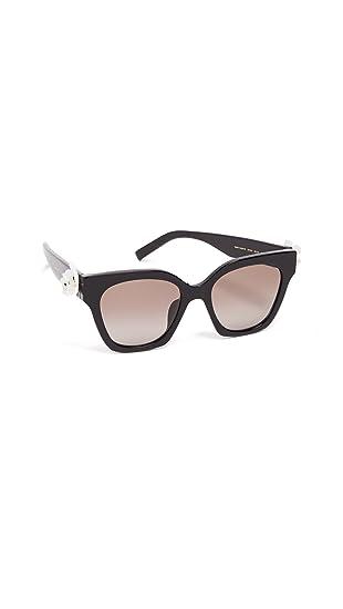 c7fa834ec3273 Marc Jacobs Daisy S 807 Black Daisy S Square Sunglasses Lens Category 2  Size 52  Amazon.co.uk  Clothing