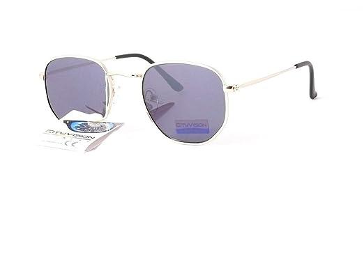 lunettes de soleil mode 2018 2019 cityvision homme femme 015317 (monture or  verres gris) 8e71d3d0285d