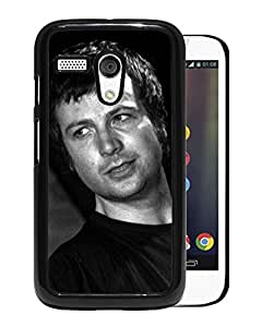 Beautiful Designed Cover Case With Bell Face Microphone Look T shirt For Motorola Moto G Phone Case