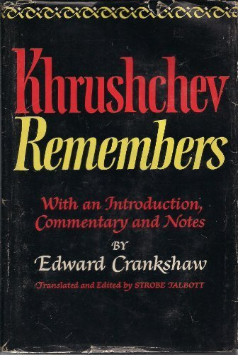 Khrushchev Remembers by Nikita Sergeevich Khrushchev - Nikita Online Shopping