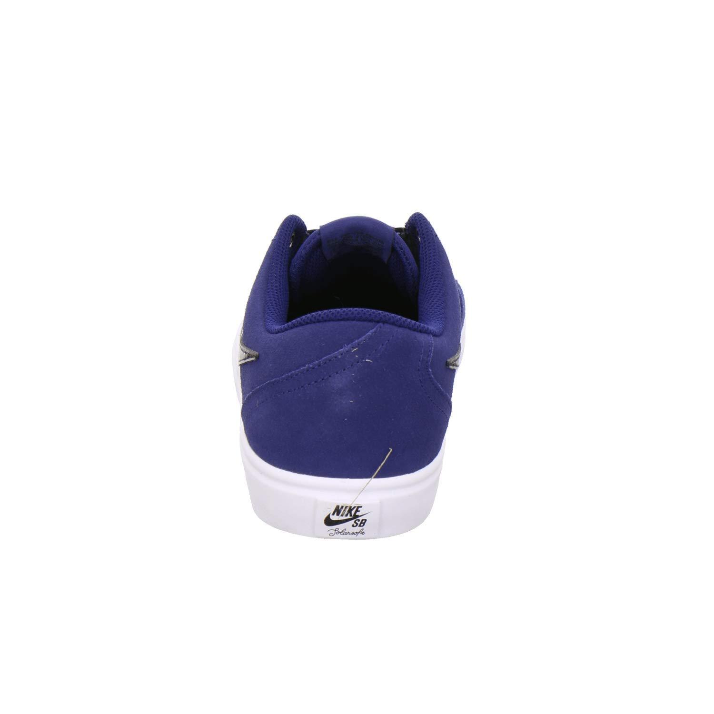 best service 77126 af937 Nike SB Check Solar, Scarpe da Ginnastica Basse Uomo Uomo Uomo B07G5TNRTY  41 EU MultiColoreeee (blu Void nero bianca ...