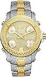 JBW JB-6213-E Men's Five Time Zone Diamond Watch