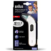 Braun ThermoScan 3 Infrarot Ohrthermometer IRT3030