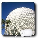 3dRose LLC 8 X 8 X 0.25 Inches Florida, Orlando. Epcot Center at Walt Disney World Bill Bachmann Mouse Pad (mp_89025_1)