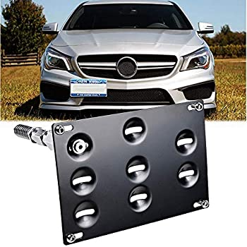No Drilling Made of Stainless Steel /& Aluminum Installs in Seconds 2011-2017 CravenSpeed The Platypus License Plate Mount for Nissan Leaf Made in USA
