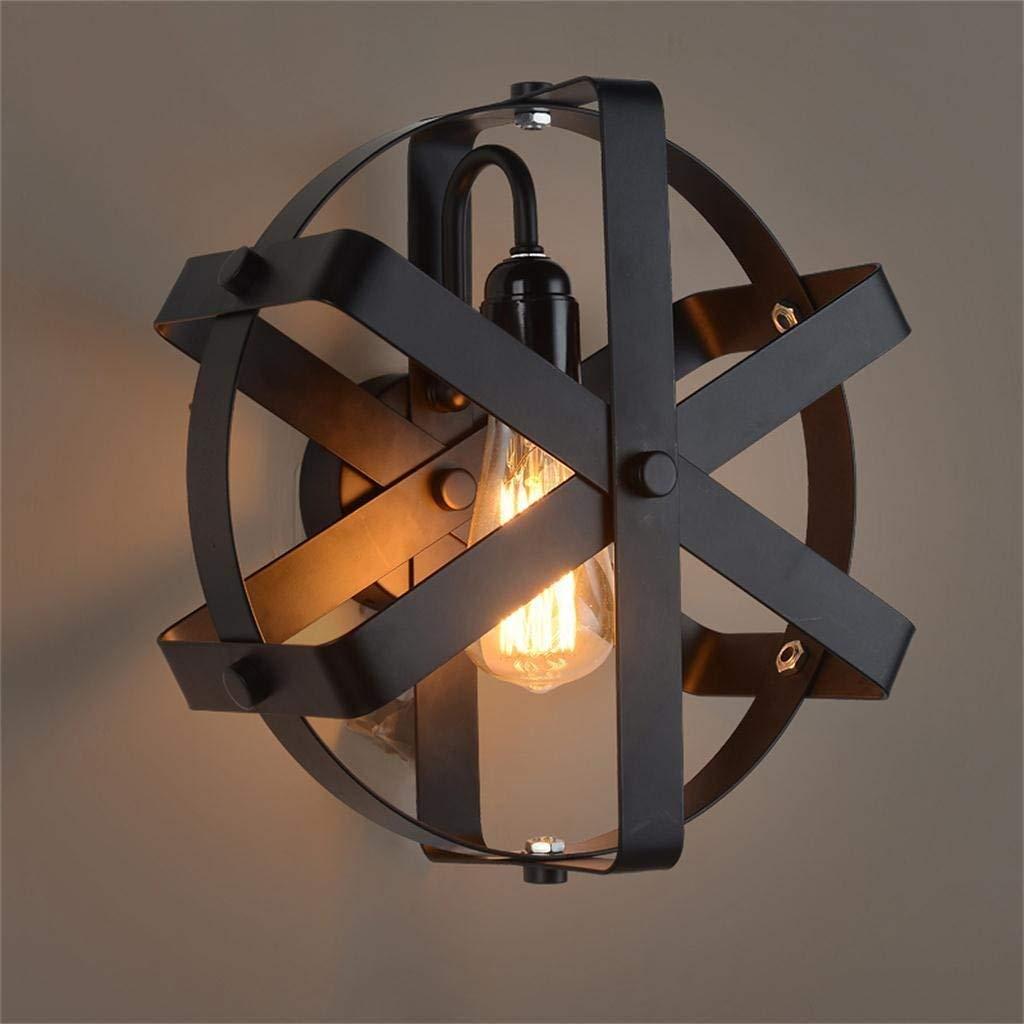 ordina ora con grande sconto e consegna gratuita FXING Romantica Illuminazione Creativa Americana Loft Industriale Vintage a Testa Testa Testa Singola Parete di Ferro  contatore genuino