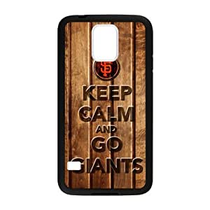 Forever Collectibles San Francisco Giants Custom Case for Samsung Galaxy S5..Keep calm and go giants