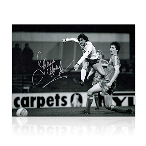 Glenn Hoddle Signed Tottenham Hotspur Photo: Road To Wembley by Exclusive Memorabilia