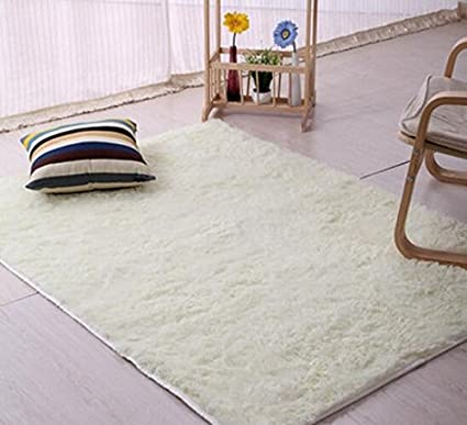 ULOOIE Tappeto per sala da pranzo, camera da letto (beige): Amazon ...