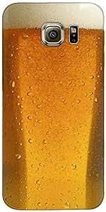 Snoogg Cerveza Cristal Up Diseñador Protectora Volver Funda Para Samsung Gala...