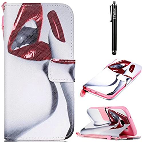 Samsung Galaxy S7 edge Case, E-fashion [Wallet Case] PU Leather Flip Case Cover [Card Slot][Magnetic Closure] For Samsung Galaxy S7 edge (Lip) Sales