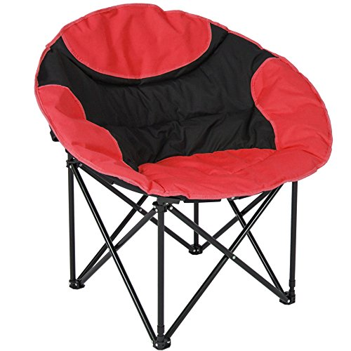 Outdoor Camping Fishing Portable Folding Lightweight Sport Chair With Shoulder Strap Carrying Bag/ Red #594 (Bunnings Furniture Outdoor Australia)