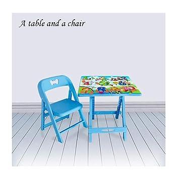 Ameublement et décoration Bleu Table Pliante en Plastique ...