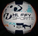 Huffy Sports Volleyball Swimming Pool Volleyball Standard Size Paint Splat Graphics (Spike Player)