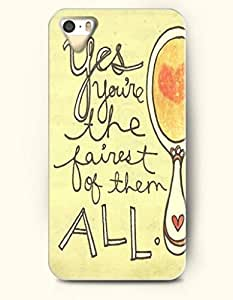 iPhone 5 5S Case OOFIT Phone Hard Case ** NEW ** Case with Design Yes You'Ve The Fairest Of Them All- Mirror - Case for Apple iPhone 5/5s