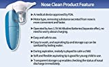 Nose clean electric nose aspirator battery operated melody sound for babies
