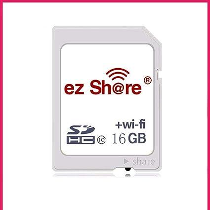IOIOA Tarjeta SD WiFi de cámara, Tarjeta de Memoria de Video ...
