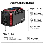 SUAOKI-Portable-Power-Station-150Wh100W-Camping-Generator-Lithium-Power-Supply-with-Dual-110V-AC-Outlet-4-DC-Ports-4-USB-Ports-LED-Flashlights-for-Camping-Travel-Emergency-Backup