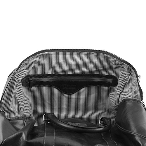 Tuscany Leather - Sac de voyage en cuir - Marron foncé