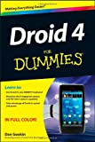 Droid 4 for Dummies, Dan Gookin, 1118336747