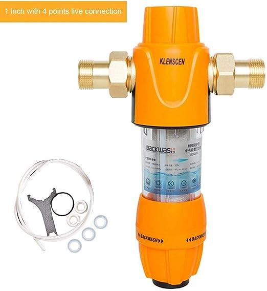 Luckybaby - Filtro de Agua Reutilizable de 40 a 60 micras, 30 Mpa ...