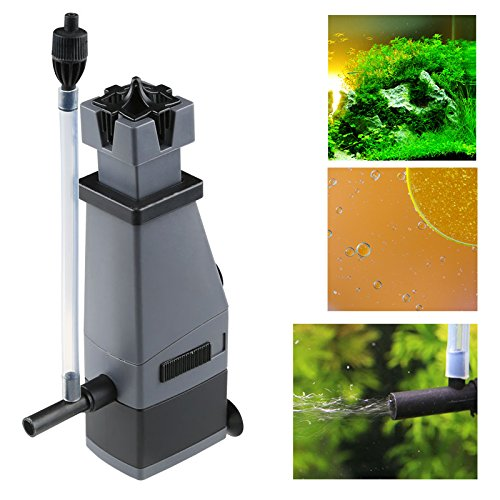 300L Water Pump oxygenation Aquarium Fish Tank Freshwater plant Surface Oil Protein Skimmer Marine Clear Water Plant Filter For fish tank FH-2