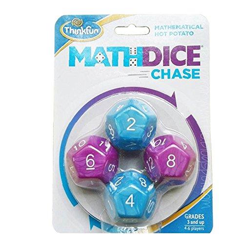 (Thinkfun Math Dice Chase Game (Multi-Colour))