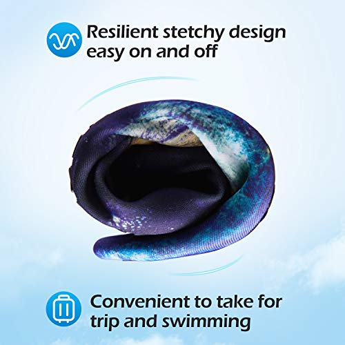 mysoft Women Men Water Shoes Barefoot Sports Aqua Yoga Socks for Beach Swim