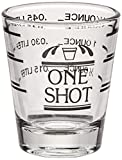 Mini Clear Measuring Shot Cup / Glass - 1.5 Oz