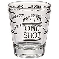 Bullseye Measured Shot Glass de True