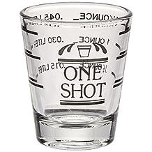 True Fabrications Glass Printed Measured Shot Glass