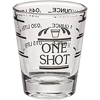 bullseye measured shot glass by true - How Many Ounces In A Shot Glass