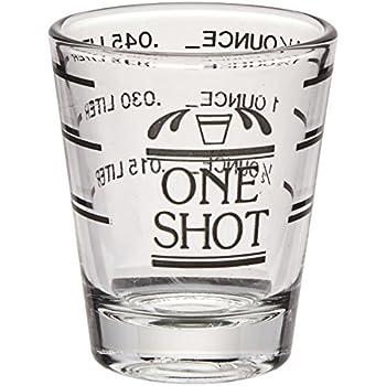 Bullseye Measured Shot Glass by True