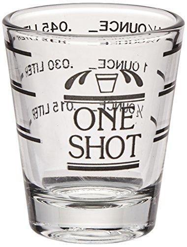 Bullseye Measured Shot Glass by True (Glasses Shot Under $5)