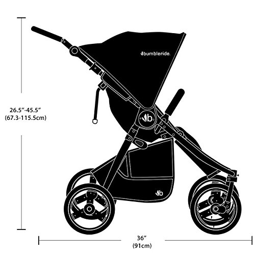 Bumbleride 2016 Indie Twin Stroller (Red Sand) by Bumbleride (Image #4)
