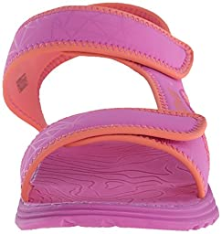 Teva Tidepool Sport Sandal (Toddler/Little Kid/Big Kid), Pink/Coral Print-T, 12 M US Little Kid