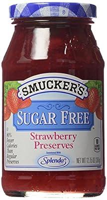 Smucker's Sugar Free Strawberry Preserves with Splenda, 12.75 oz
