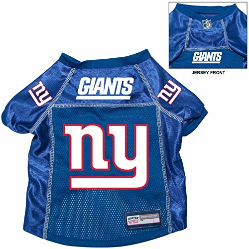 New York Giants Pet Dog Football Jersey Alt. Blue LARGE