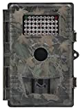 ZenNutt 1080P HD Game & Trail Hunting Camera 12 MP Low Glow Infrared Night Vision Motion Activated Wildlife Scounting Camera with 42pcs IR LEDs and 1 Year Manufacturer Warranty