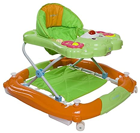 Sun Baby Bear - Andador para bebé, color verde y naranja: Amazon ...