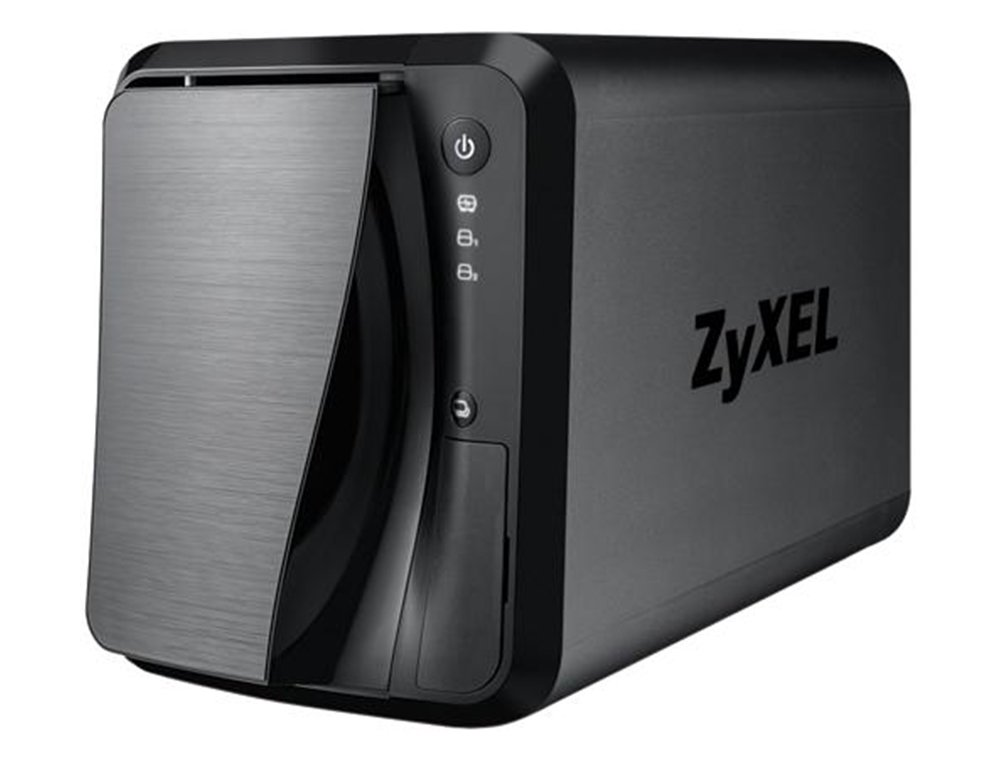 ZyXEL [NAS520] 6TB Personal Cloud Storage [2-Bay] for Home with iOS & Android Remote Access and Media Streaming (Built-in 2X 3TB Enterprise NAS HDD)- Retail by ZyXEL