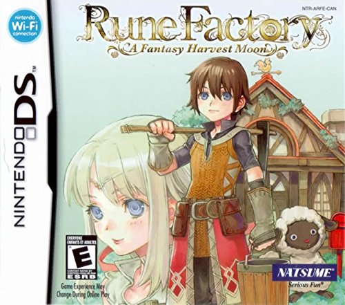 Rune Factory: A Fantasy Harvest Moon by Natsume