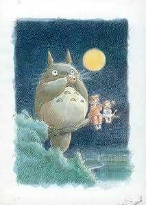 My Neighbor Totoro Movie Poster Print