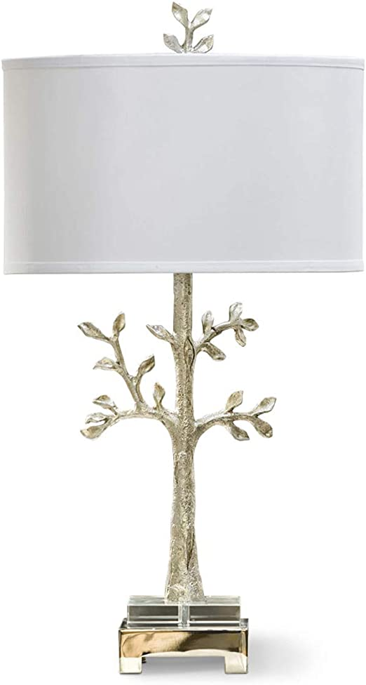 Regina Andrew Silver Modern Tree Decorative Table Lamp Standing