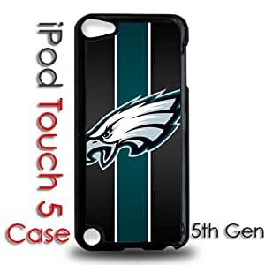 IPod 5 Touch Black Plastic Case - Philadelphia Eagles Football