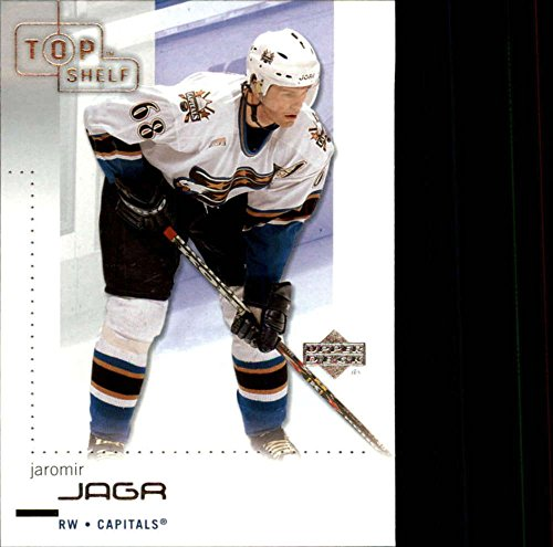 2002-03 UD Top Shelf Washington Capitals Team Set No SP 3 Cards Jagr Capital Shelf