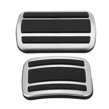 JenNiFer Car Brake Gas Pedal Cover Almohadilla Antideslizante para Peugeot 3008/3008 GT 5008 2017-2018: Amazon.es: Coche y moto