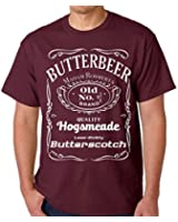 Raw T-Shirt's Vintage Butterbeer - Old No. 9 3/4 - Wizard Potter Butter Scotch Men's T-Shirt