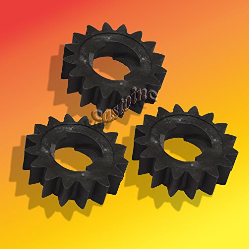 (3 Starter Gear 16 Tooth Fits Briggs # 695708, 280104, 280104S,th 4155, 693059 ,,#G434G14 1T4G3484TYG395386)